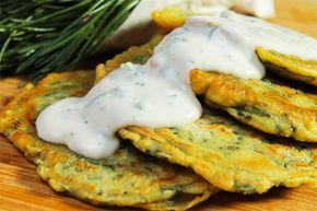 Pancake vegani salati agli agretti — karmaveg.it