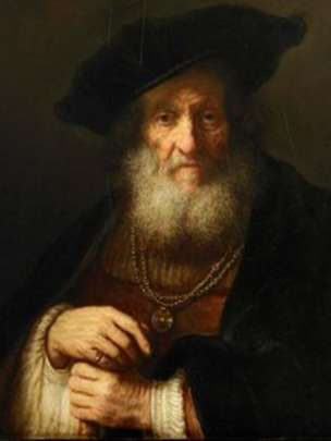 Portrait of an Old Man or The Old Rabbi by Rembrandt