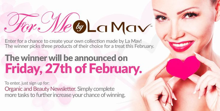 #Giveaway Time! Win a Collection That's Customized for YOU by #LaMav!