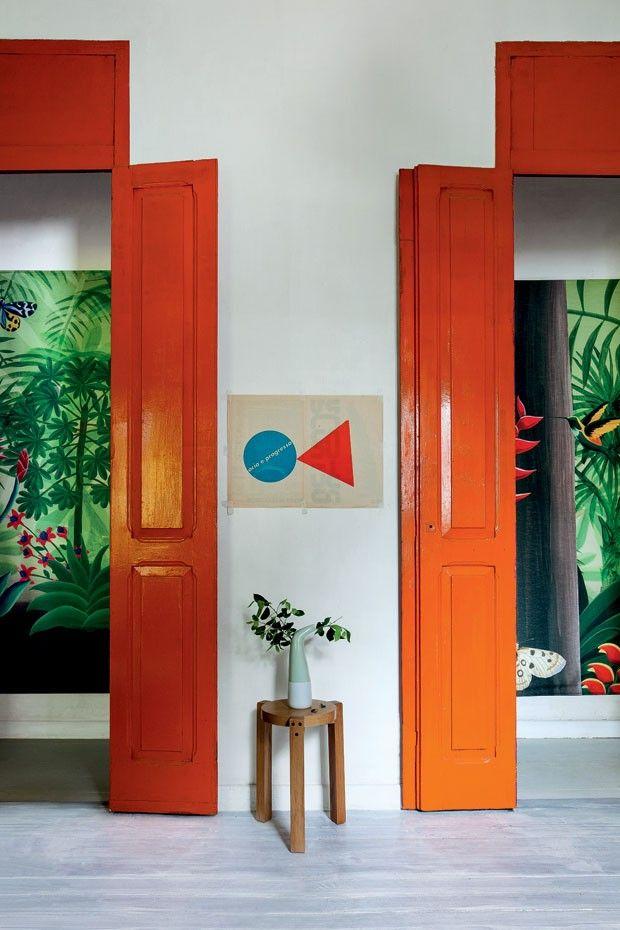 Designer mora em prédio centenário em Botafogo