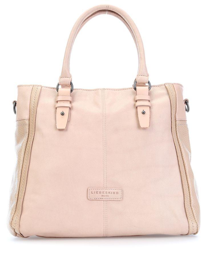 wardow.com - #pastell #bag #soft #colour #Liebeskind Waxy Riccarda Handtasche Leder altrosa 35 cm