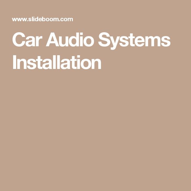 25  best ideas about car audio systems on pinterest