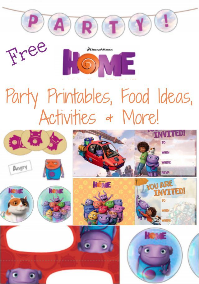 home movie themed party ideas free printables