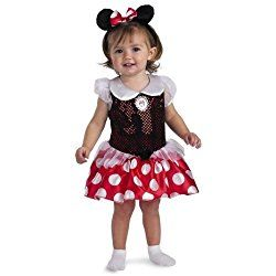 Minnie Mouse Infant Girl Costume, Photo Prop