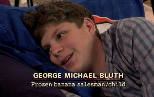 george michael bluth. frozen banana salesman / child