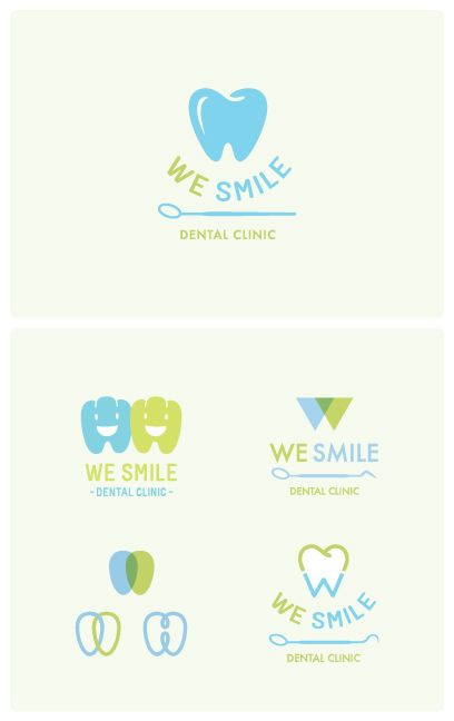 We Smile Dental Clinic Logo / Bangkok design by Narueb Nakprasert
