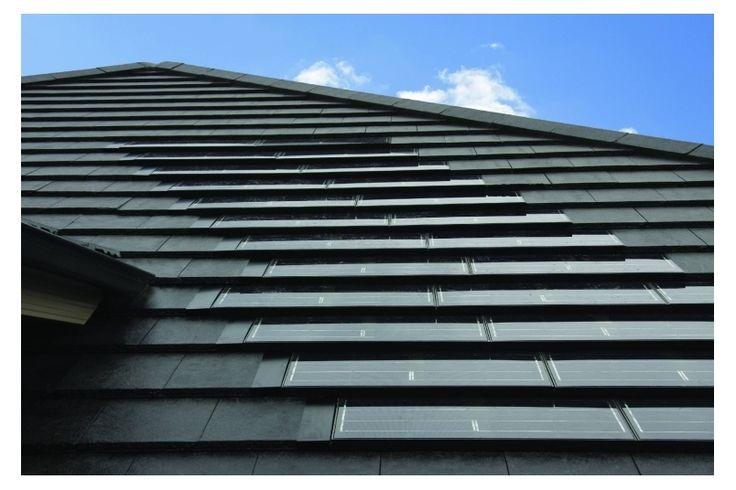 Monier SOLARtile roof tiles