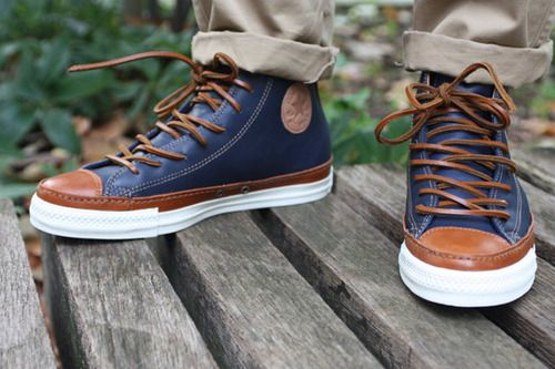 Converse Brown Laces
