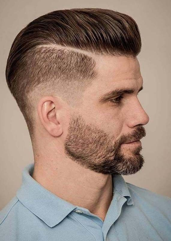 Slicked Back Caesar Haircut Mens Hairstyles Haircuts For Men Slicked Back Hair
