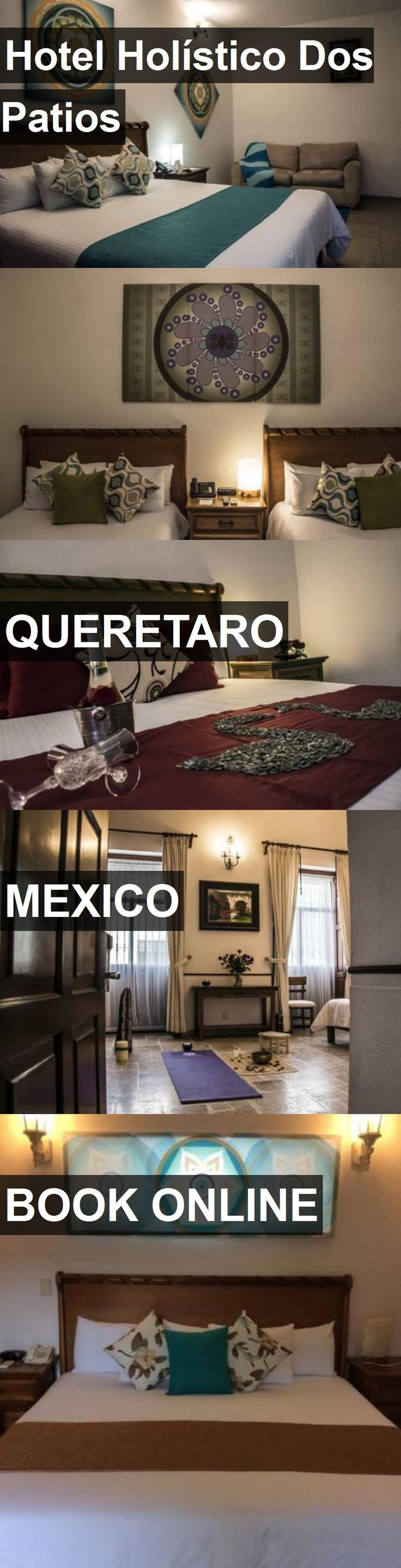 Hotel Hotel Holístico Dos Patios in Queretaro, Mexico. For more information, photos, reviews and best prices please follow the link. #Mexico #Queretaro #HotelHolísticoDosPatios #hotel #travel #vacation