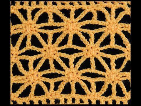 Crochet : Punto Estrella