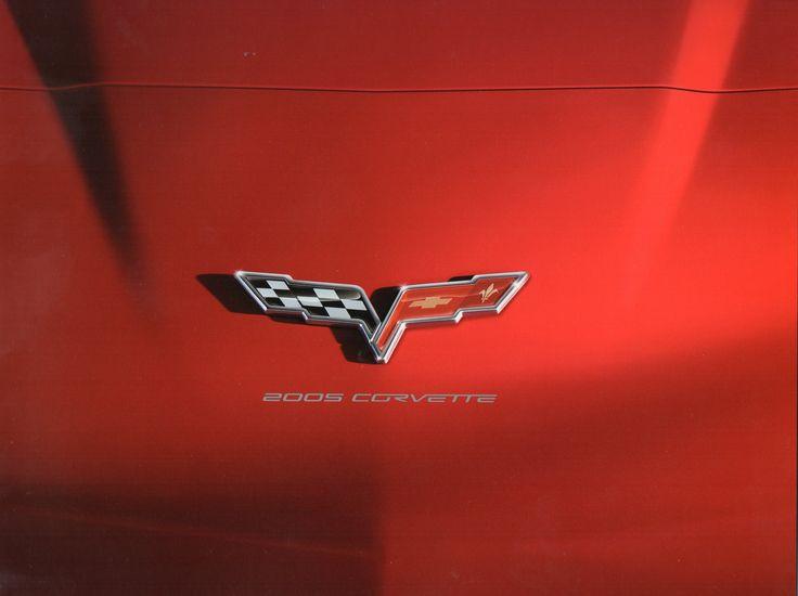 Added for sale today: -1-2005 Corvette Brochure + Mini poster
