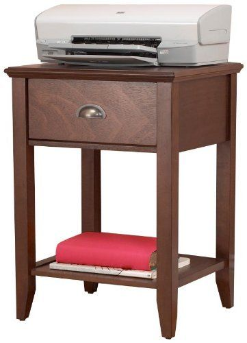 Tall end tables with drawers woodworking projects plans for Large side table with drawers