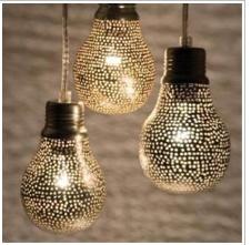 love these #lightbulbs #gold