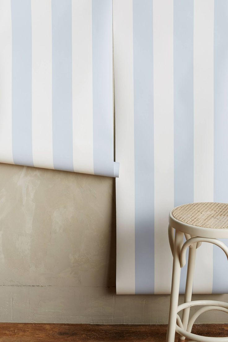 Glastonbury Stripe Wallpaper - anthropologie.com