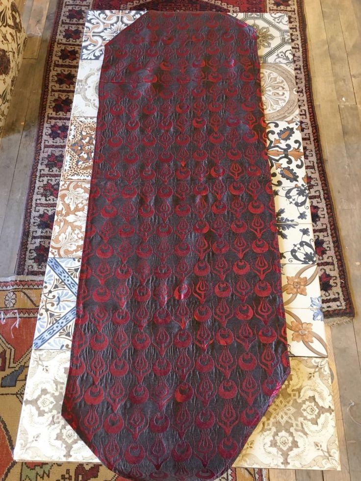 ORIENTAL TURKISH RUNNER, RED