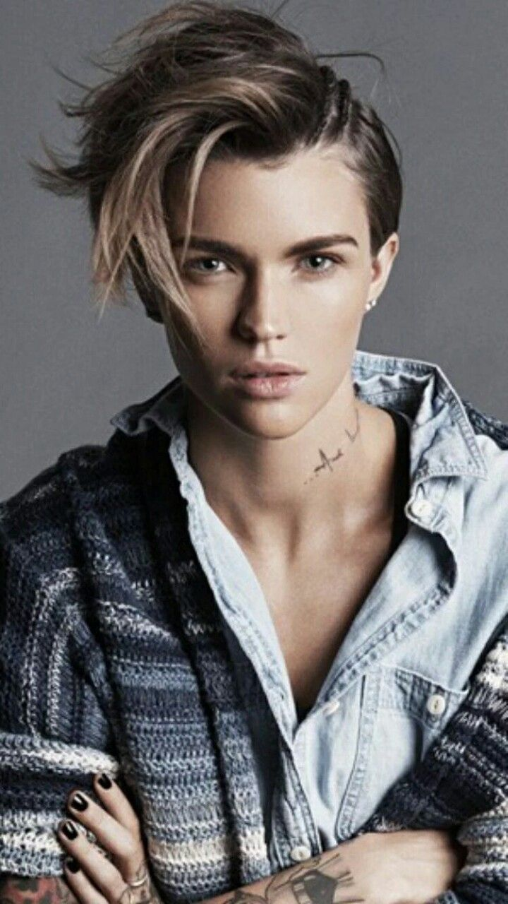 Ruby Rose #tomboy #androgynous
