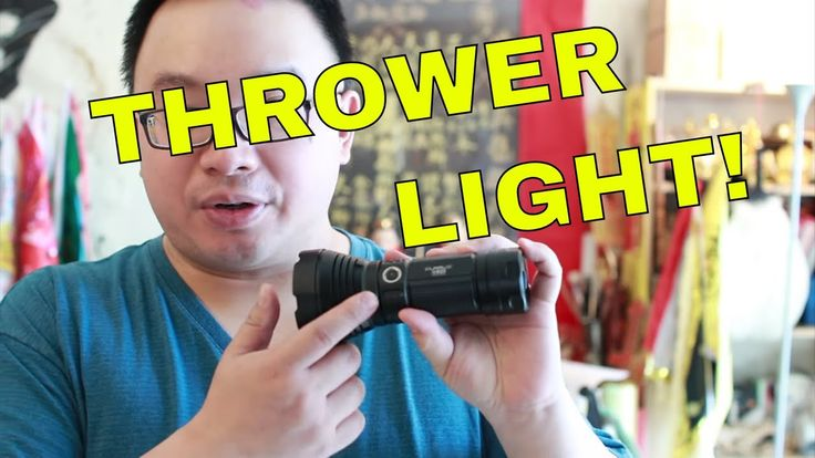 Klarus G35 - 2000 Lumens Thrower Flashlight Review