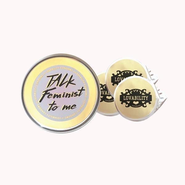 Easy-Open Feminist Condoms Make Contraception Even More Rad.