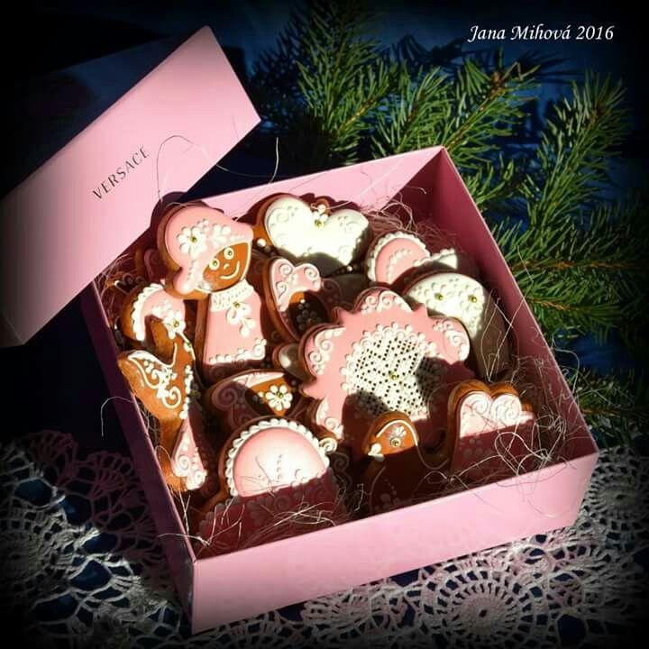 Versace exclusive gingerbread present