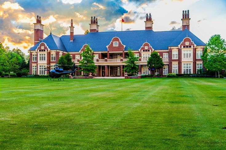 Former CEO of Interbrew Hugo Powell models retirement home on an old English manor only to see it become an empty nest