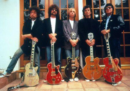 The Traveling Wilburys - Bob Dylan, Roy Orbison, Tom Petty, George Harrison, and Jeff Lynne: George Harrison, Music, Traveling, Jeff Lynn, Bobs Dylan, Toms Petty, Travel Wilburi, Roy Orbison, Dylan O'Brien