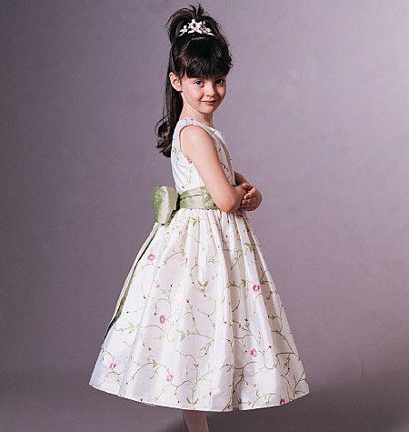 V7819 Children's Dress Jacket   Average - Flowergirl
