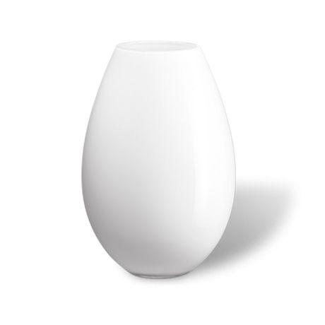 Cocoon Floor vase White, 45,5 cm, Holmegaard