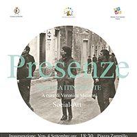 """""""Presenze"""" Mostra itinerante a cura di Veronica Muntoni Social Art :: 30 grandi stampe di artisti sardi :: Villacidro 2015"""