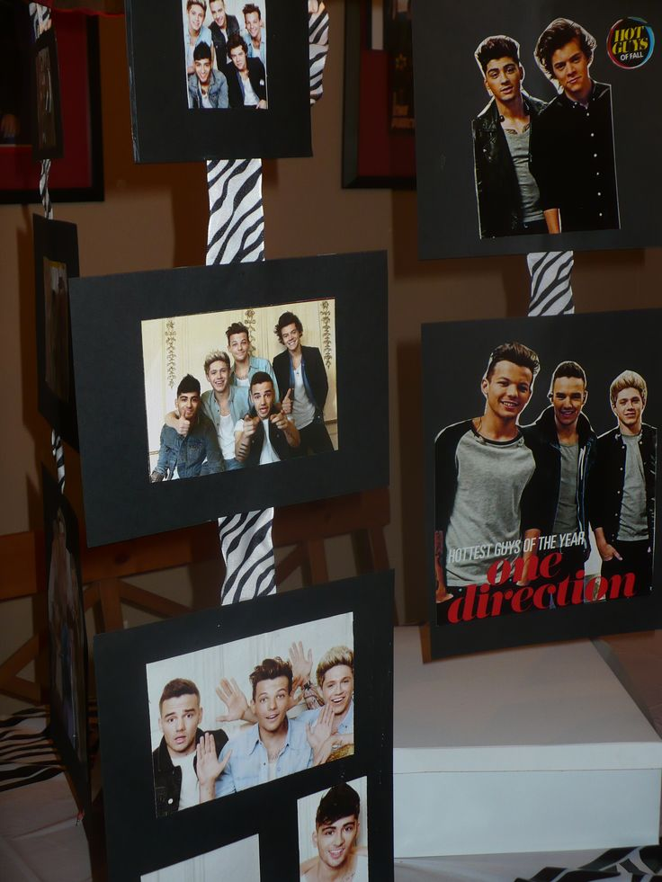 DIY One Direction party OMG MOOOOOOOOM I KNOW WHAT I WANT MY SWEET 16 TO BE THEMED