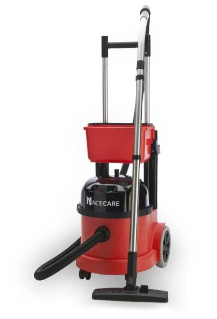 """Dry Vacuum PVR 390: """"ProVac"""" Dry vacuum with on-board storage."""