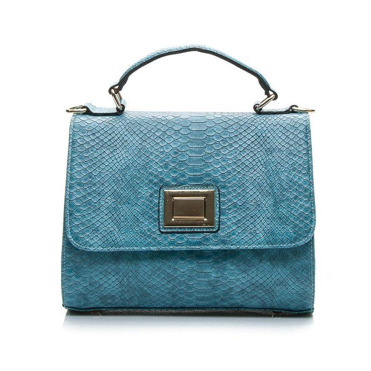 BLUE CROC HANDBAG - odcienie niebieskiego > CzasNaButy.pl > buty i torebki