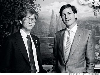 "TIL Steve Jobs confronted Bill Gates after he announced Windows' GUI OS. ""You're stealing from us!"" Bill replied ""I think it's more like we both had this rich neighbor named Xerox and I broke into his house to steal the TV set and found out that you had already stolen it."""