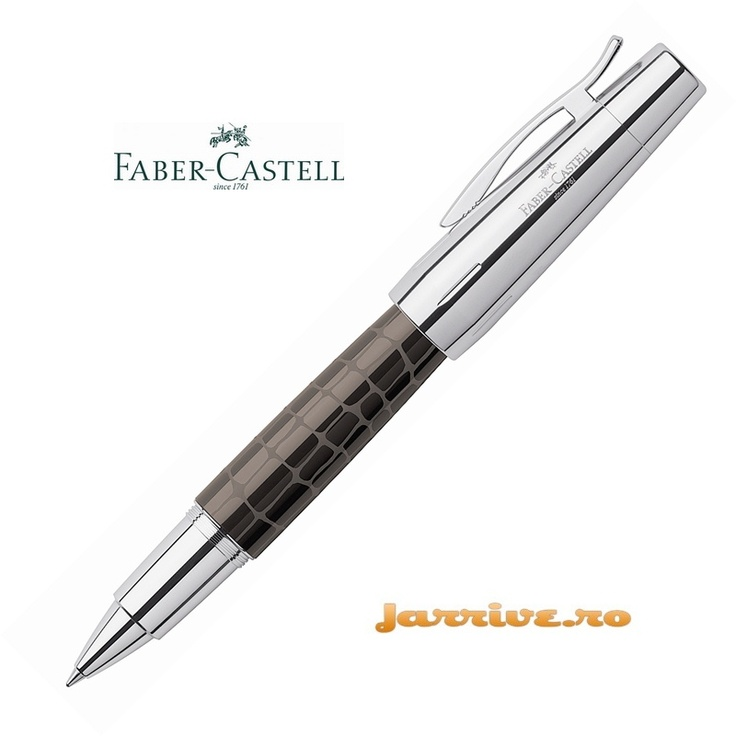 Faber-Castell e-motion Rollerball Croco Brown 148275
