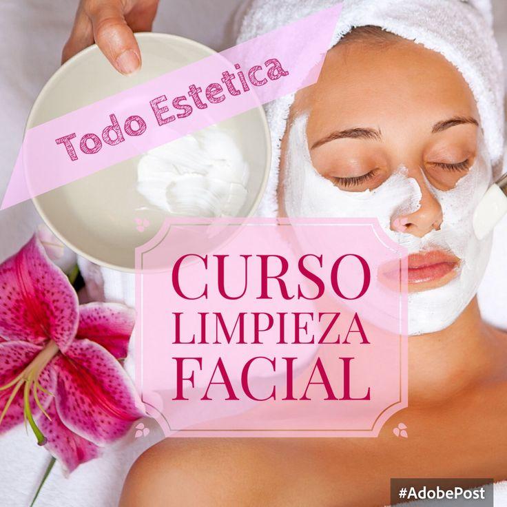 Curso de Limpieza Facial. iniciamos desde enero 2016. Consulte fecha. Info en www.todoestetica.cl/cursos inscripciones y reserva wsp 69008626 Las Condes