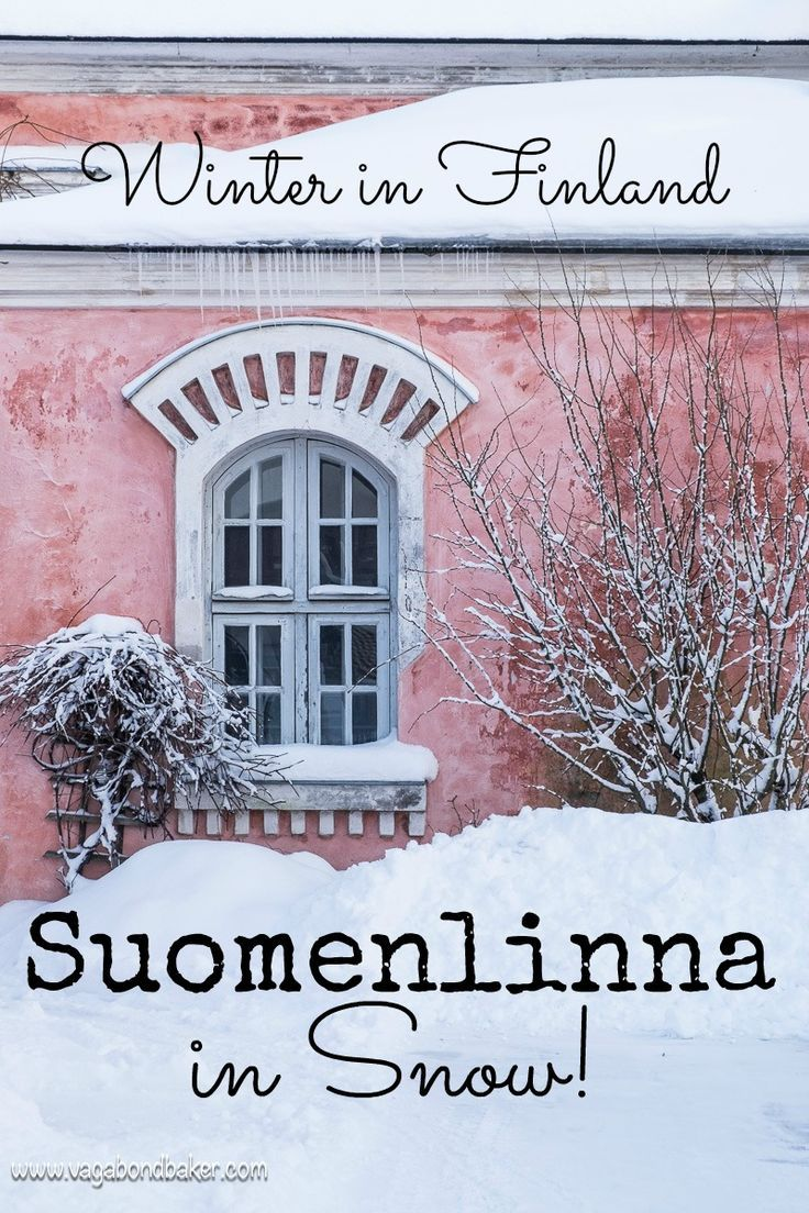 Here's Why You Must Visit Suomenlinna in Snow