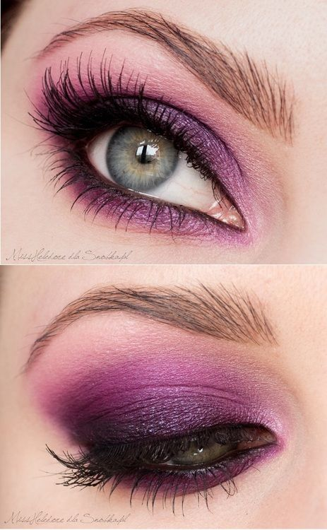 Purple Eyeshadow Tutorial: Best 25+ Purple Smokey Eye Ideas On Pinterest
