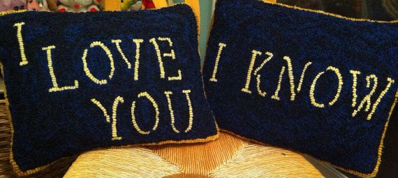 Star Wars pillows by HookedOnGeek on Etsy