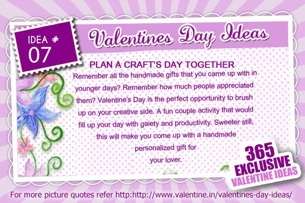 Valentines Day Ideas #7