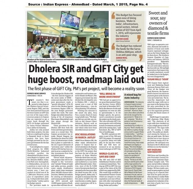 Dholera SIR & GIFT City get huge boost, roadmap laid out