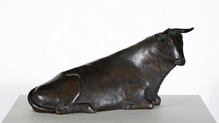 Gerhard Marcks, Taureau espagnol, Sculpture, © MuMa Le Havre / Charles Maslard