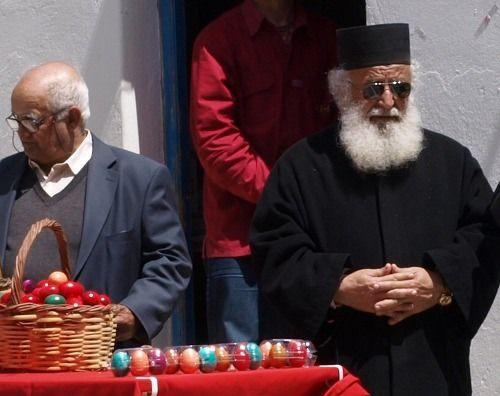 Ostersonntag in Marpissa auf Paros