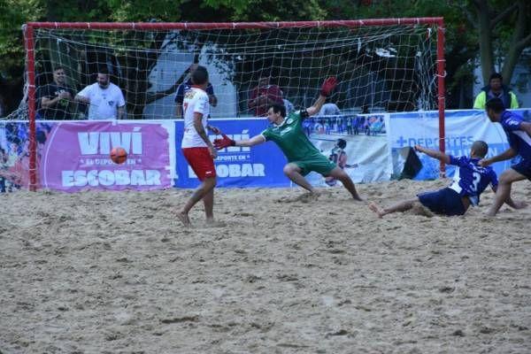 Escobar, sede de la liguilla clasificatoria a la Copa Libertadores de fútbol playa