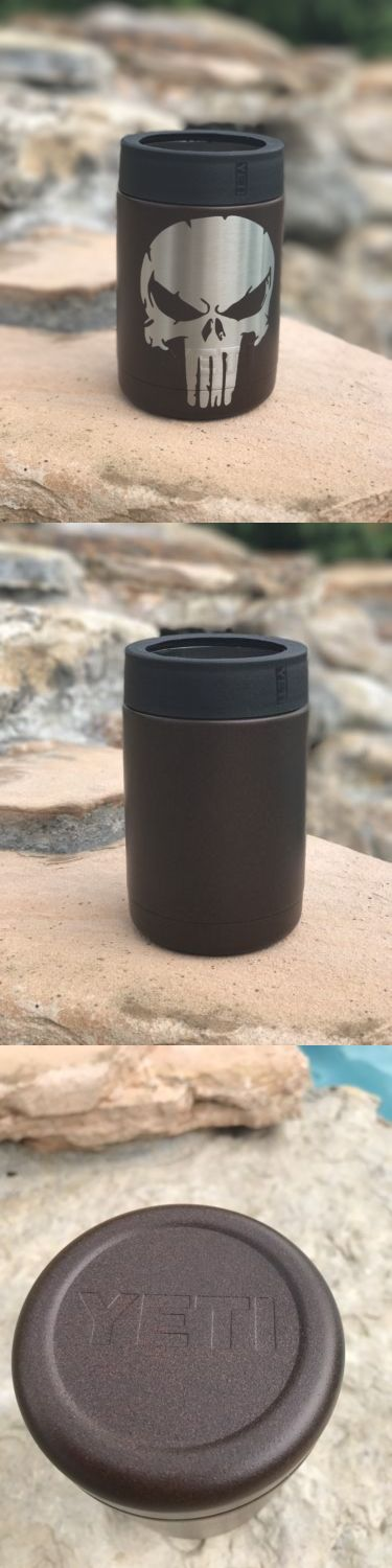Other Camping Cooking Supplies 16036: Custom Powder Coated Authentic Yeti Colster 12Oz Punisher Rust Powder Coat -> BUY IT NOW ONLY: $31.14 on eBay!