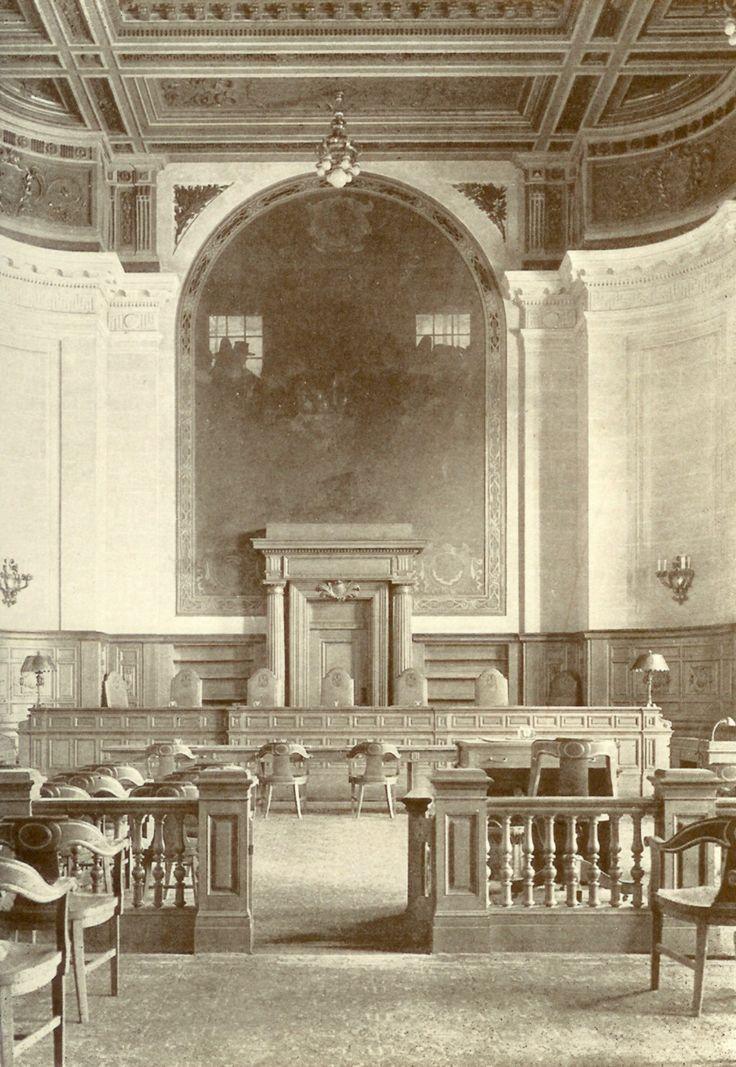 Supreme Court Courtroom 1910 Connecticut