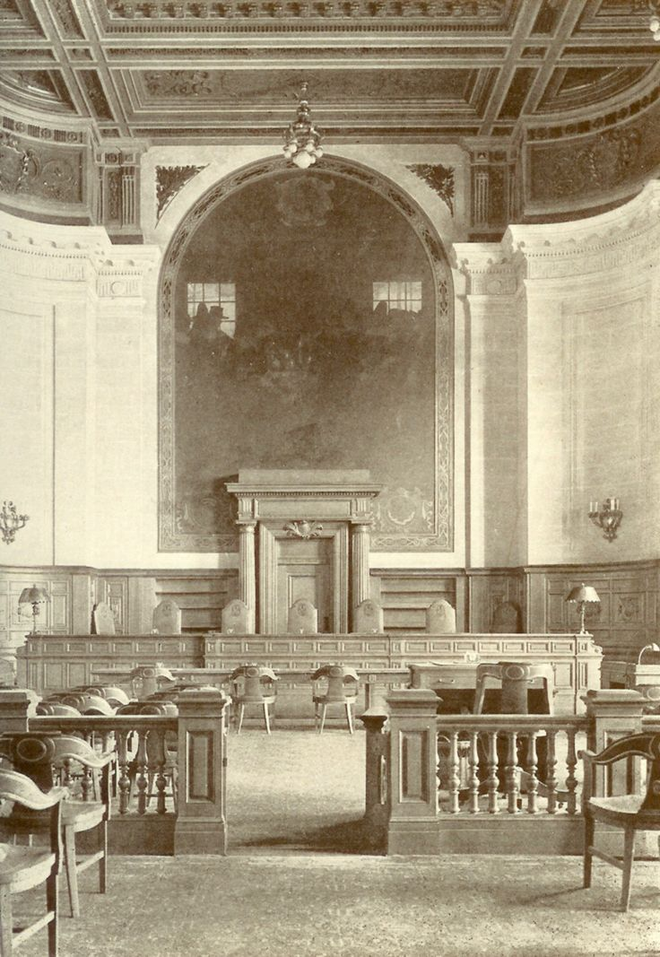 Supreme Court Courtroom 1910 Connecticut