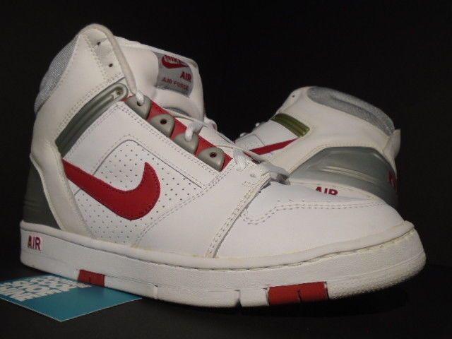 2003 NIKE AIR FORCE 2 II HIGH WHITE RED