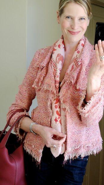 Cashmere Silk Scarf - Provence Fabrique by VIDA VIDA bLCwC