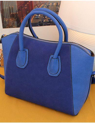 Stylish Retro New Nubuck Shoulder Bag_Bags_Wholesale Bags_Wholesalekingdom.net