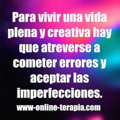 Autocompasión con las imperfecciones. #autoestima #aceptar #imperfecciones #creatividad